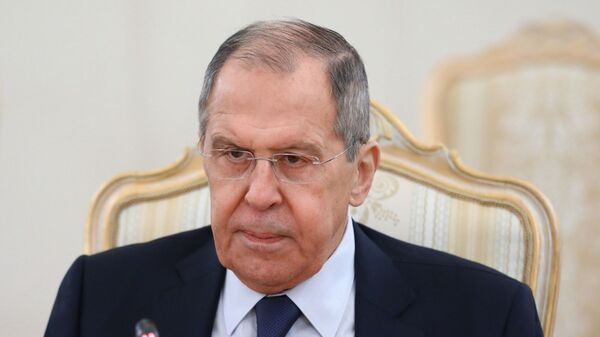 Serguéi Lavrov, canciller de Rusia - Sputnik Mundo