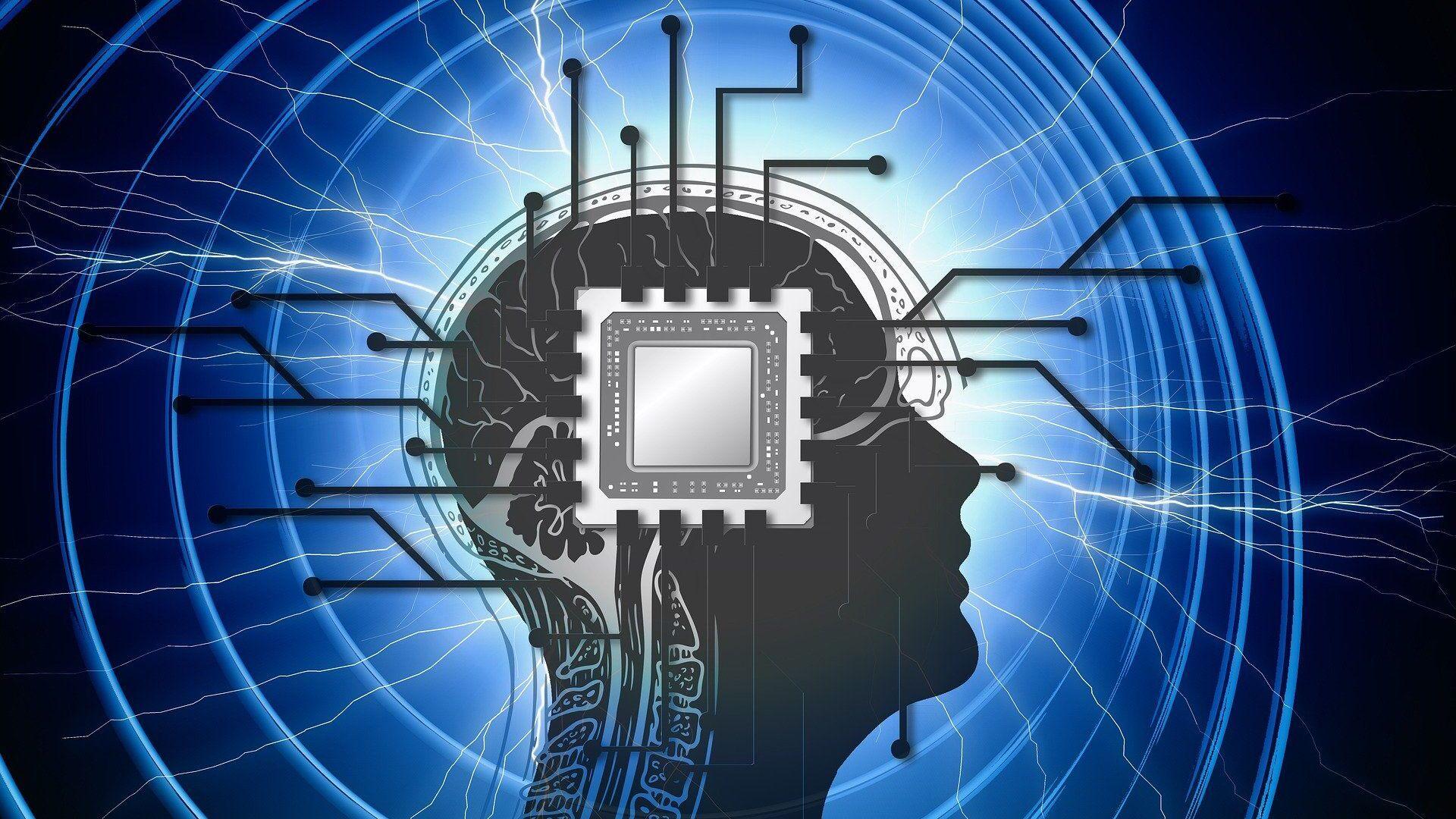 Un chip en el cerebro (imagen referencial) - Sputnik Mundo, 1920, 03.02.2021