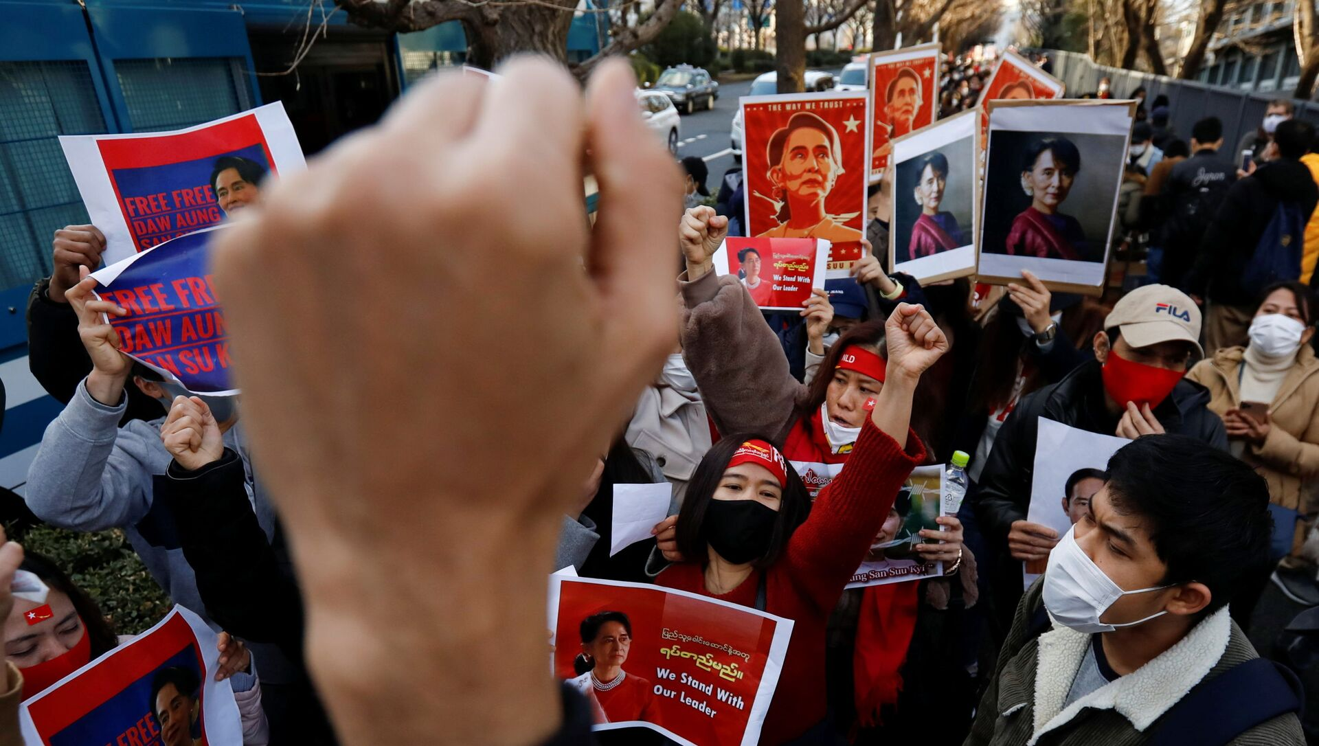 Protestas en Birmania - Sputnik Mundo, 1920, 10.02.2021
