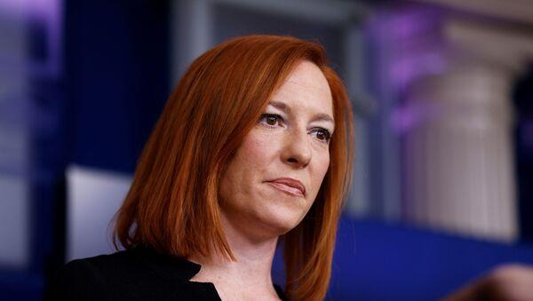 Jen Psaki, la secretaria de Prensa de la Casa Blanca - Sputnik Mundo