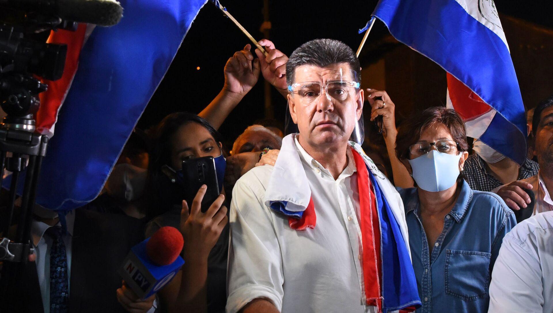 Efraín Alegre, el presidente del opositor Partido Liberal Radical Auténtico del Paraguay - Sputnik Mundo, 1920, 03.02.2021