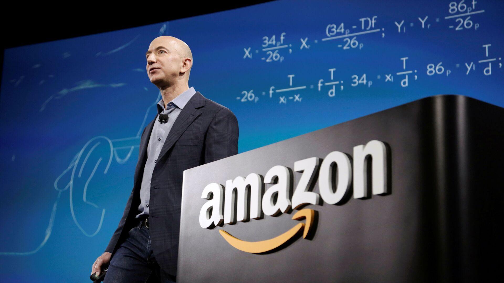 Jeff Bezos, director ejecutivo de Amazon - Sputnik Mundo, 1920, 07.06.2021