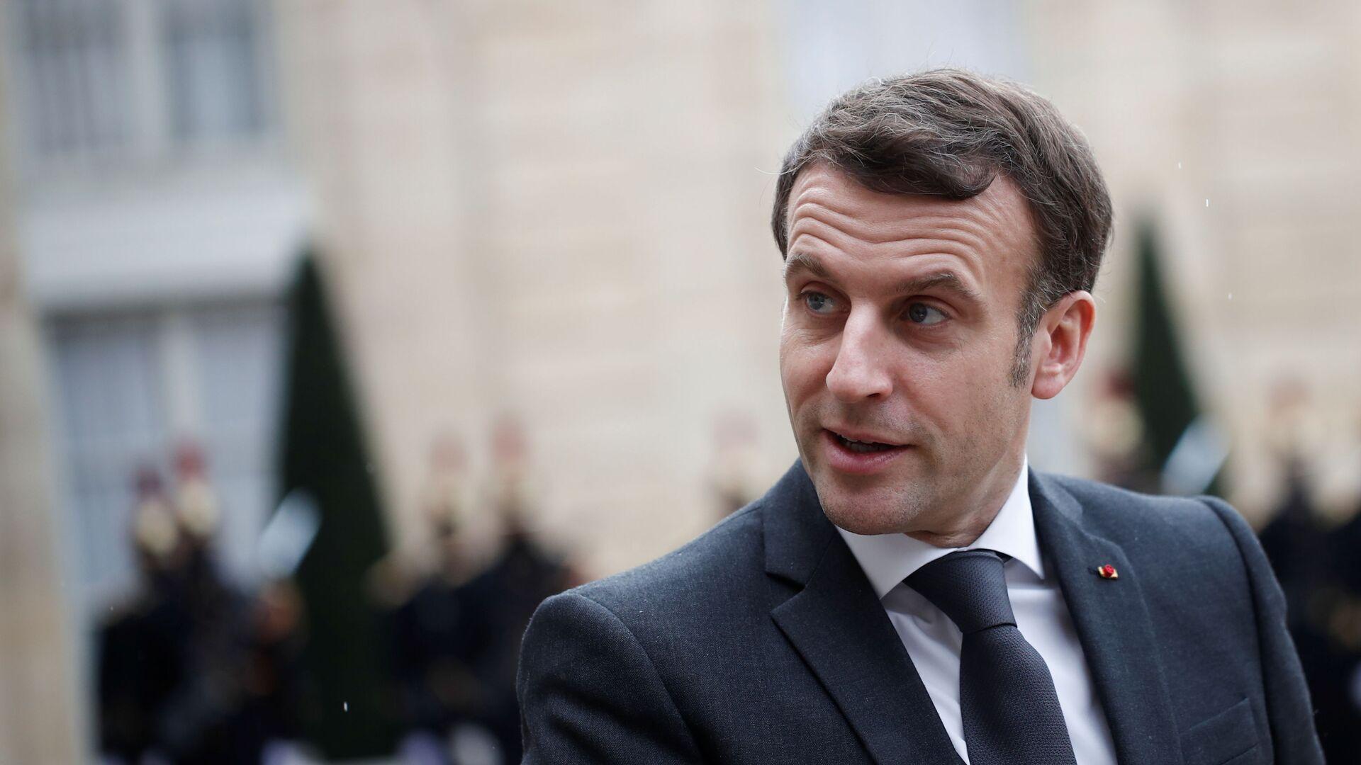Emmanuel Macron, el presidente de Francia - Sputnik Mundo, 1920, 17.04.2021