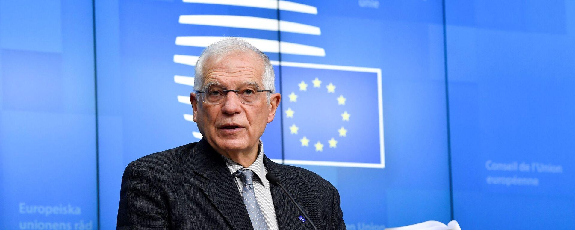Josep Borrell, alto representante para la Política Exterior de la UE - Sputnik Mundo, 1920, 22.05.2021