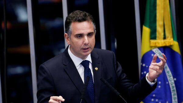 Rodrigo Pacheco, presidente del Senado brasileño - Sputnik Mundo