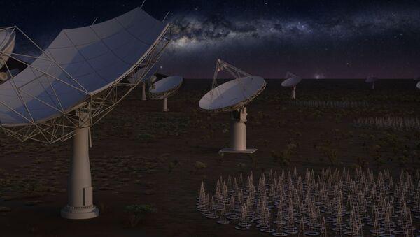 Impresión artística de las antenas SKA - Sputnik Mundo