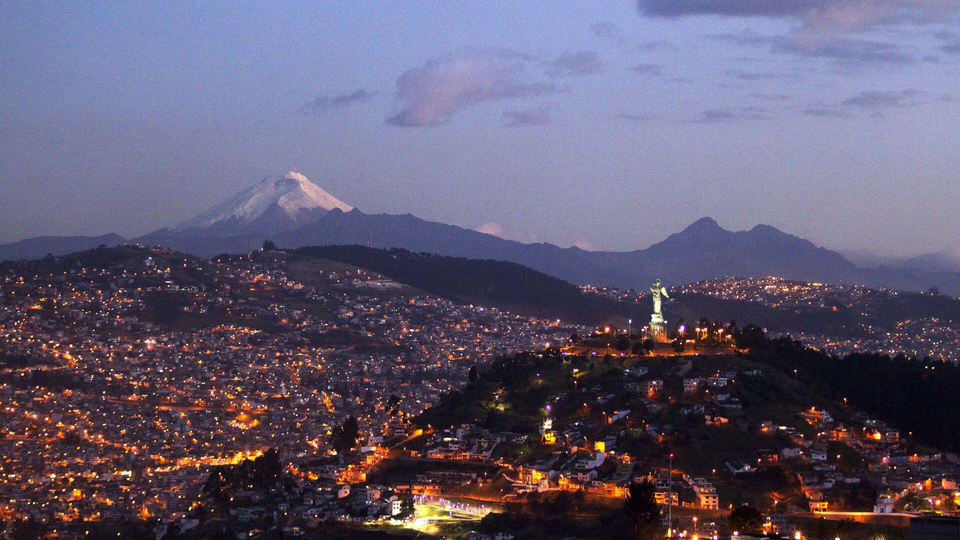 Quito, la capital de Ecuador  - Sputnik Mundo, 1920, 27.04.2021