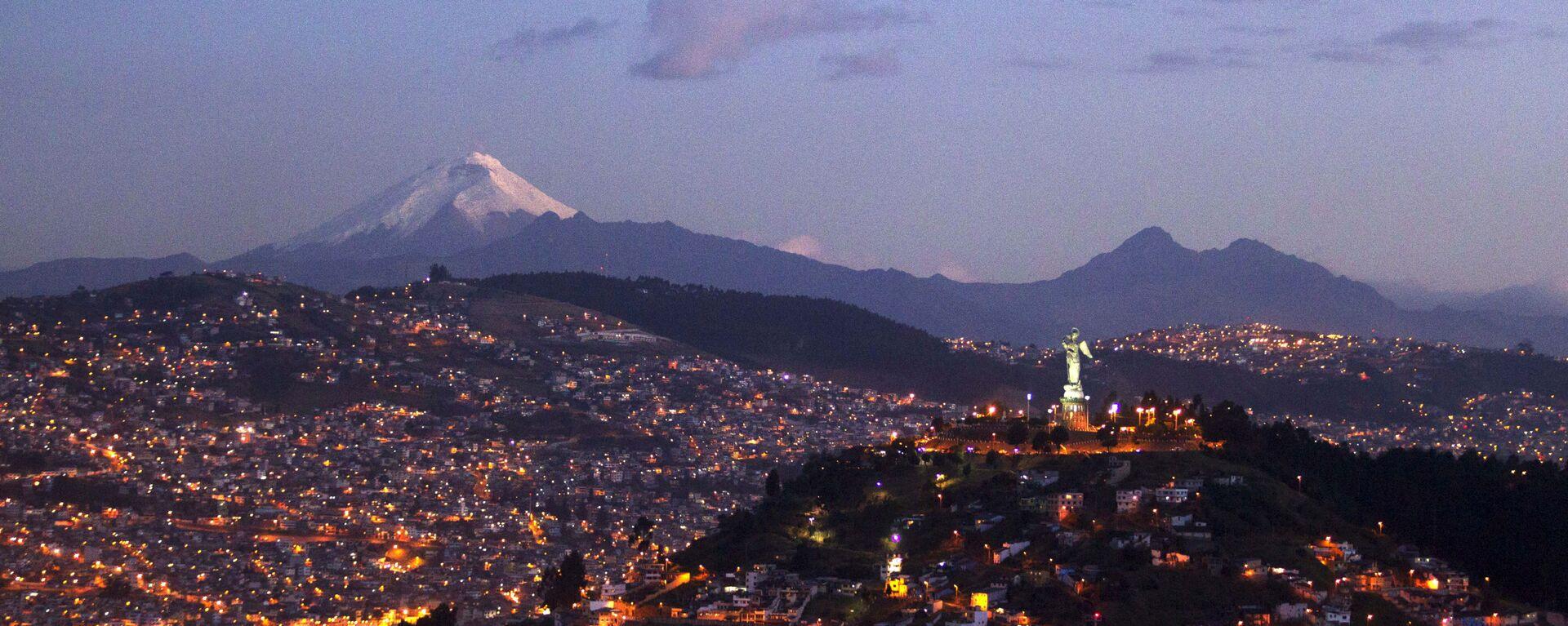 Quito, la capital de Ecuador  - Sputnik Mundo, 1920, 04.02.2021