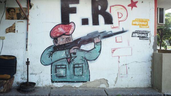 Niños, adultos e incluso políticos utilizan la violencia con mecanismos de inclusión en Venezuela - Sputnik Mundo
