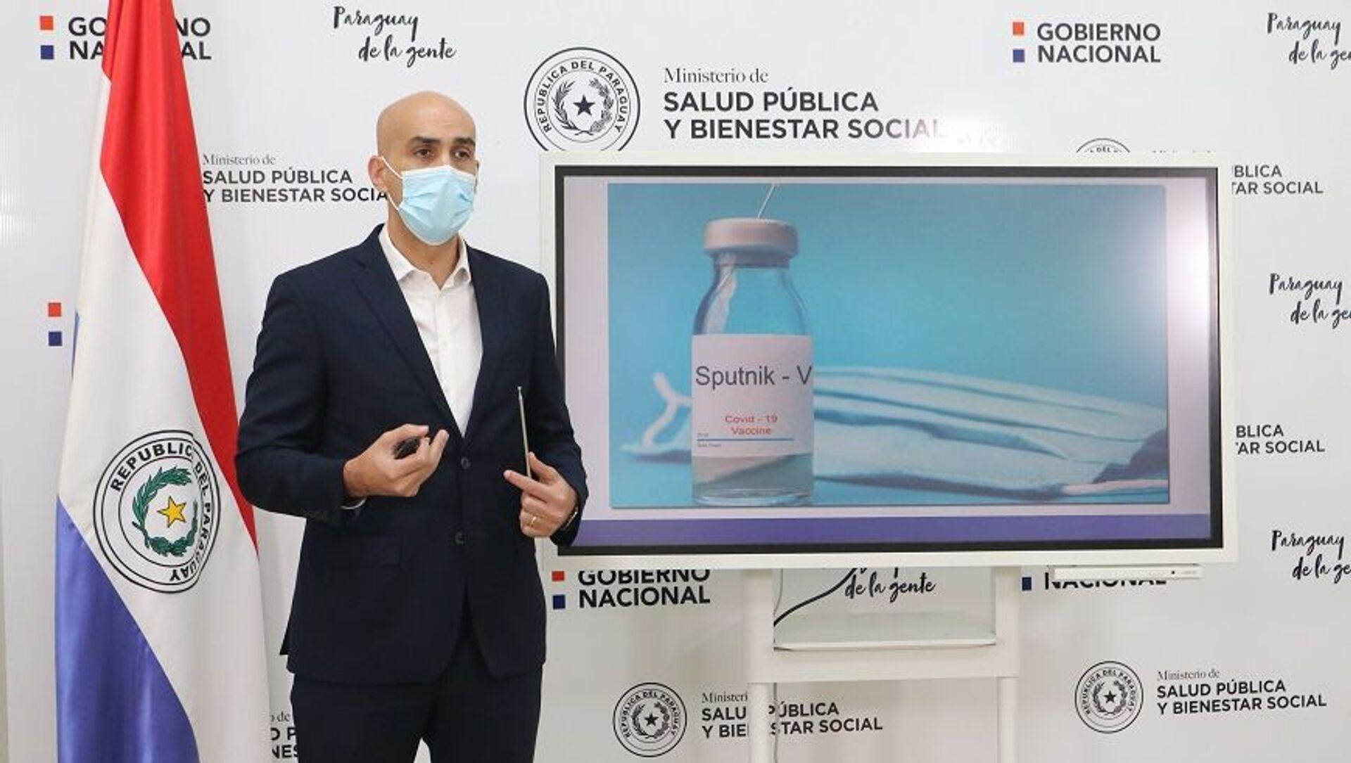Julio Mazzoleni, ministro de Salud de Paraguay - Sputnik Mundo, 1920, 05.02.2021