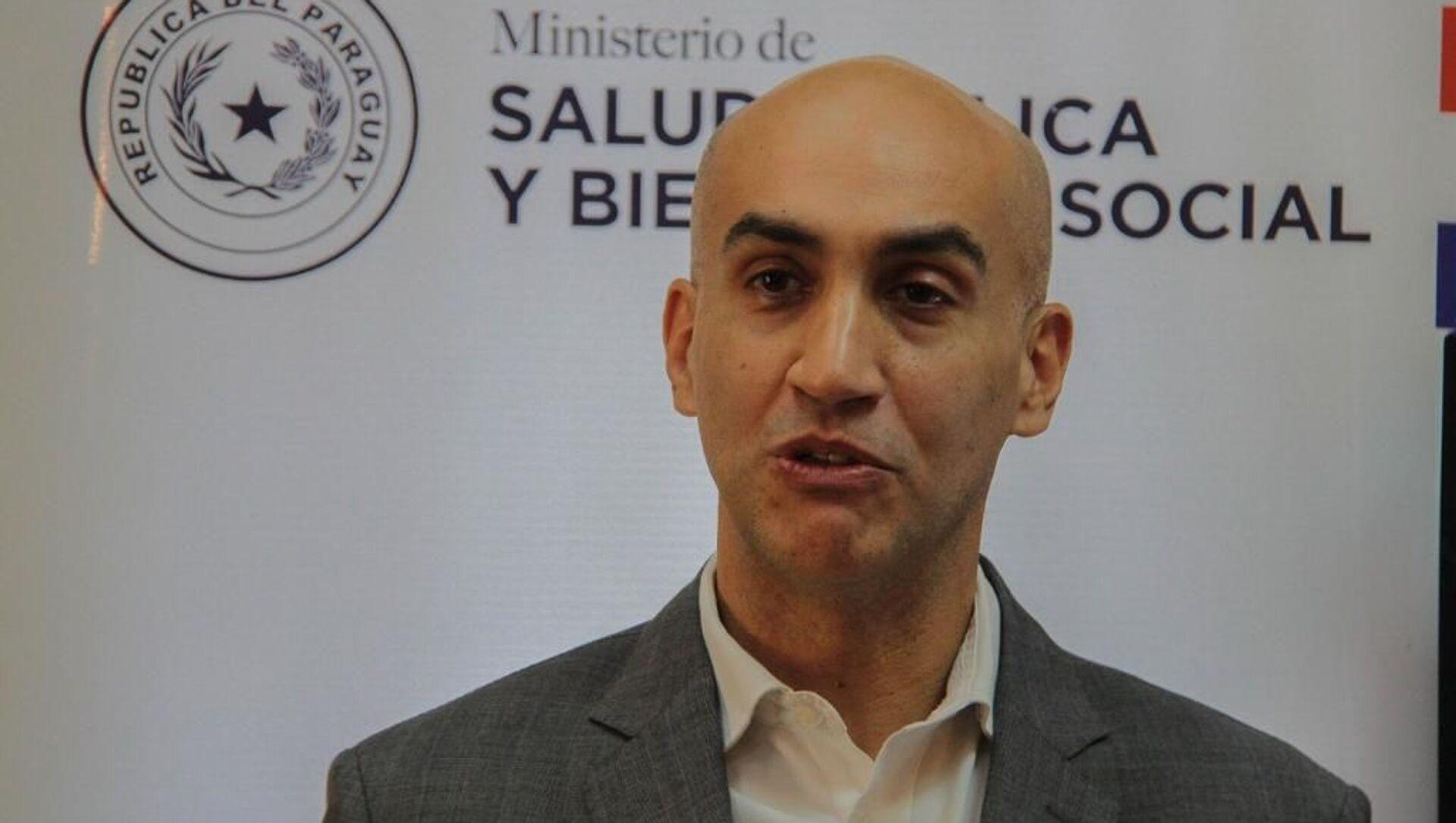 Julio Mazzoleni, ministro de Salud de Paraguay - Sputnik Mundo, 1920, 04.02.2021