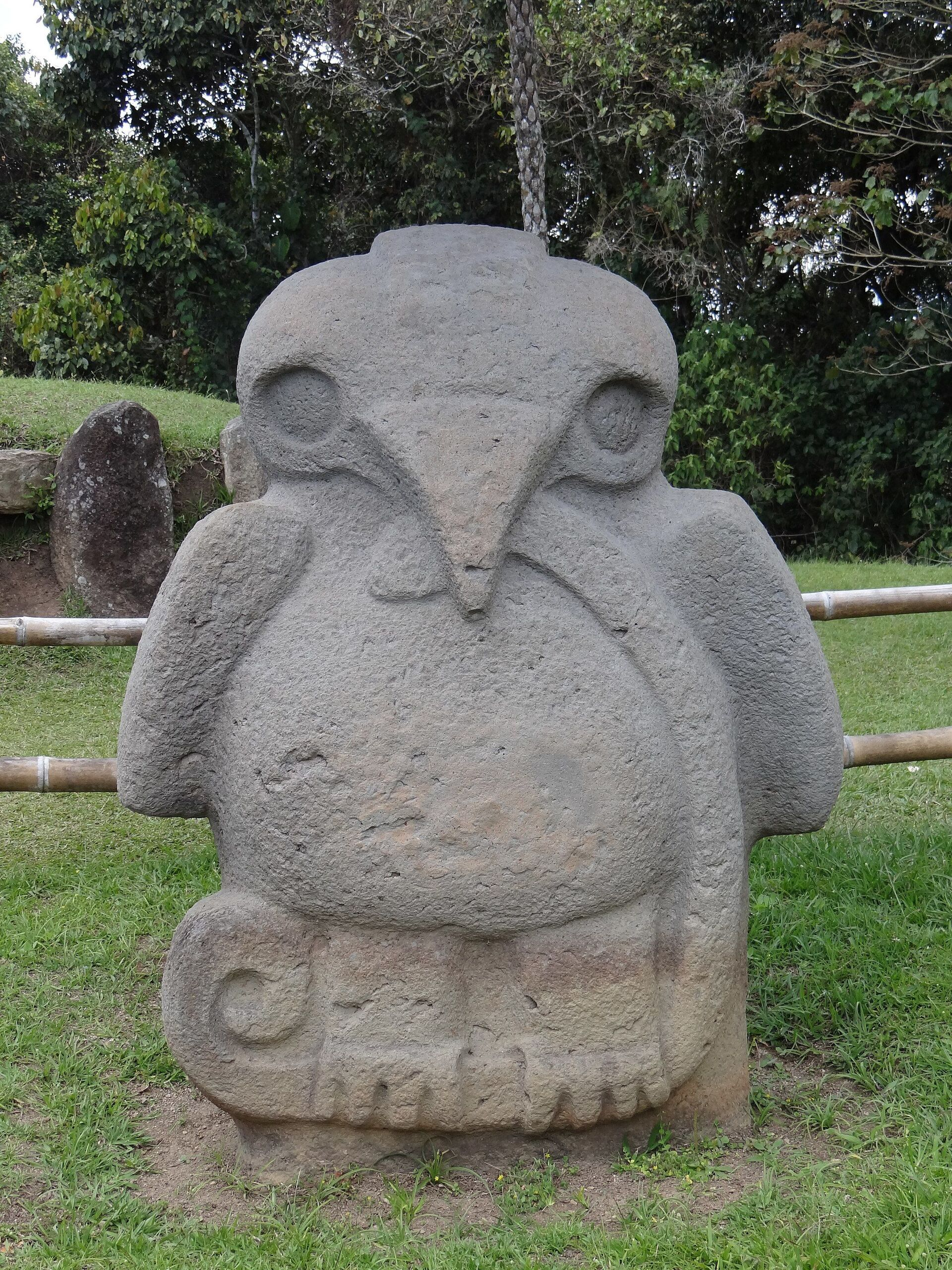 Estatua del Parque Nacional Arqueológico de San Agustín, Colombia  - Sputnik Mundo, 1920, 11.02.2021