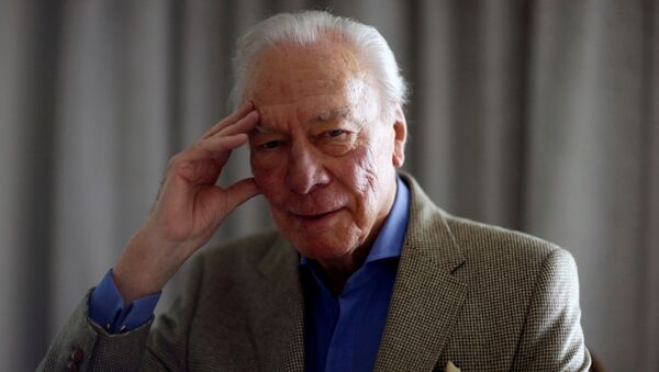 Christopher Plummer, actor canadiense - Sputnik Mundo