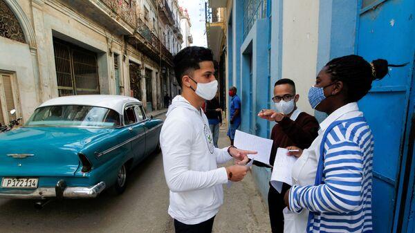 Coronavirus en La Habana - Sputnik Mundo