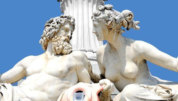 Las estatuas de dioses griegos (imagen referencial) - Sputnik Mundo