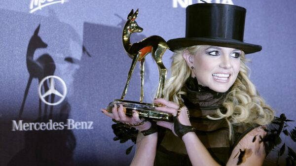 La cantante Britney Spears en noviembre de 2008 - Sputnik Mundo