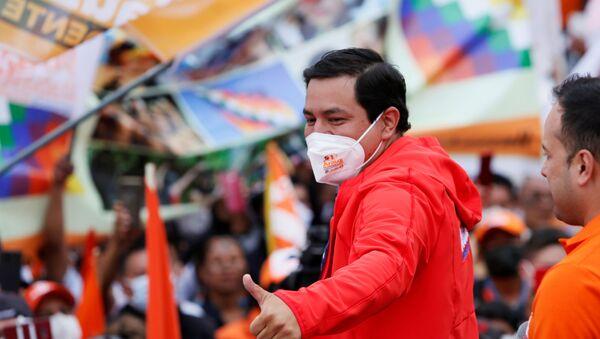 Andrés Arauz, el candidato a la presidencia de Ecuador - Sputnik Mundo