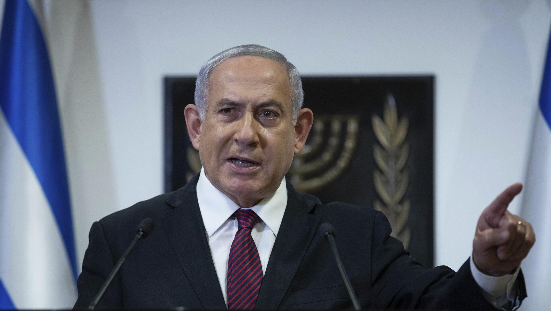 Benjamin Netanyahu, primer ministro israelí - Sputnik Mundo, 1920, 07.02.2021
