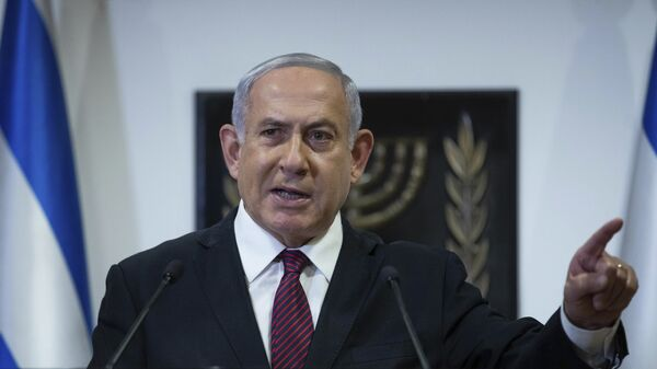Benjamin Netanyahu, primer ministro israelí - Sputnik Mundo