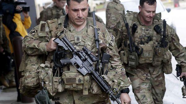 Unos soldados del Ejército de EEUU - Sputnik Mundo