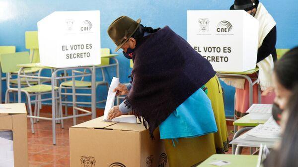 Elecciones presidenciales en Ecuador - Sputnik Mundo