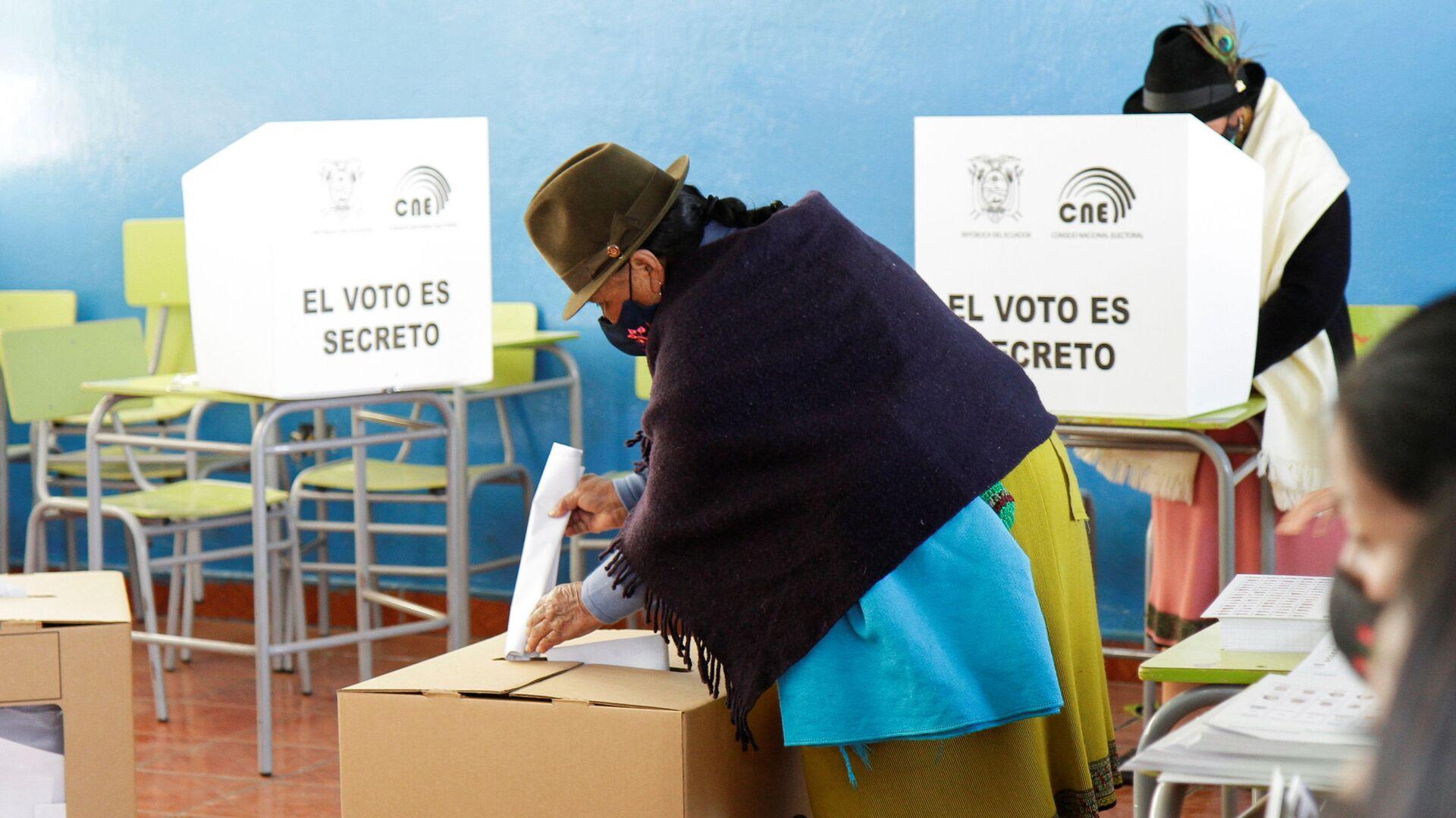 Elecciones presidenciales en Ecuador - Sputnik Mundo, 1920, 07.02.2021