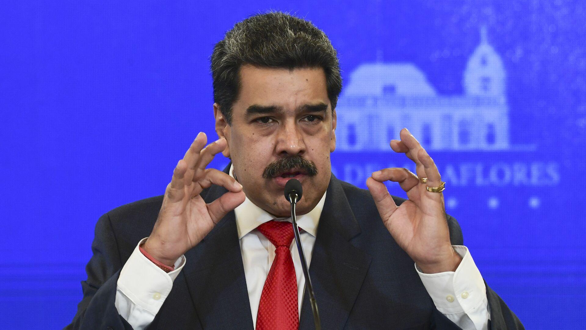 Nicolás Maduro, presidente de Venezuela - Sputnik Mundo, 1920, 30.07.2021