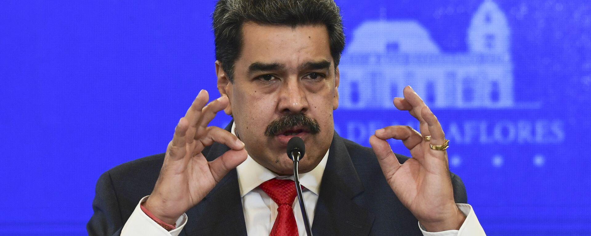 Nicolás Maduro, presidente de Venezuela - Sputnik Mundo, 1920, 04.06.2021