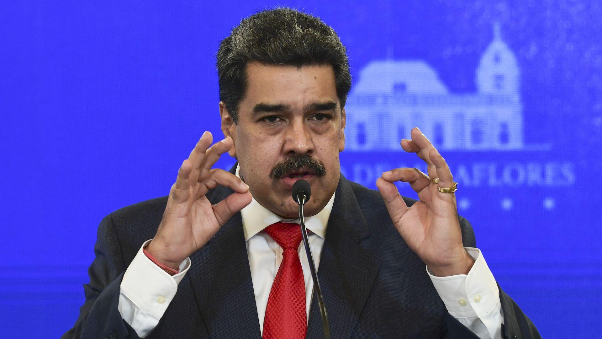 Nicolás Maduro, presidente de Venezuela - Sputnik Mundo, 1920, 17.02.2021
