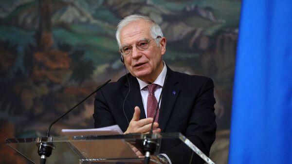 La visita del Josep Borrell a Moscú - Sputnik Mundo