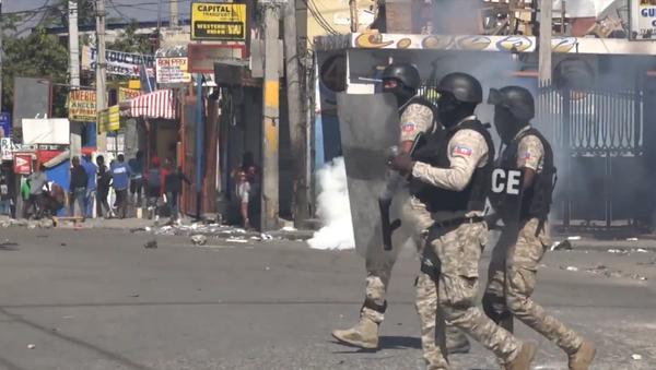 Haití vive una ola de protestas tras el fallido golpe de Estado - Sputnik Mundo