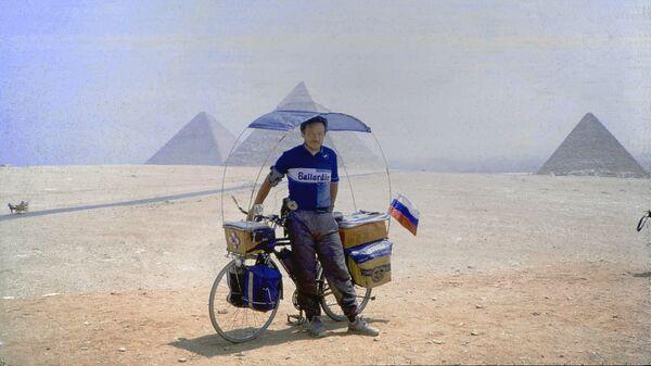 Vladislav Ketov en Egipto, 1993 - Sputnik Mundo