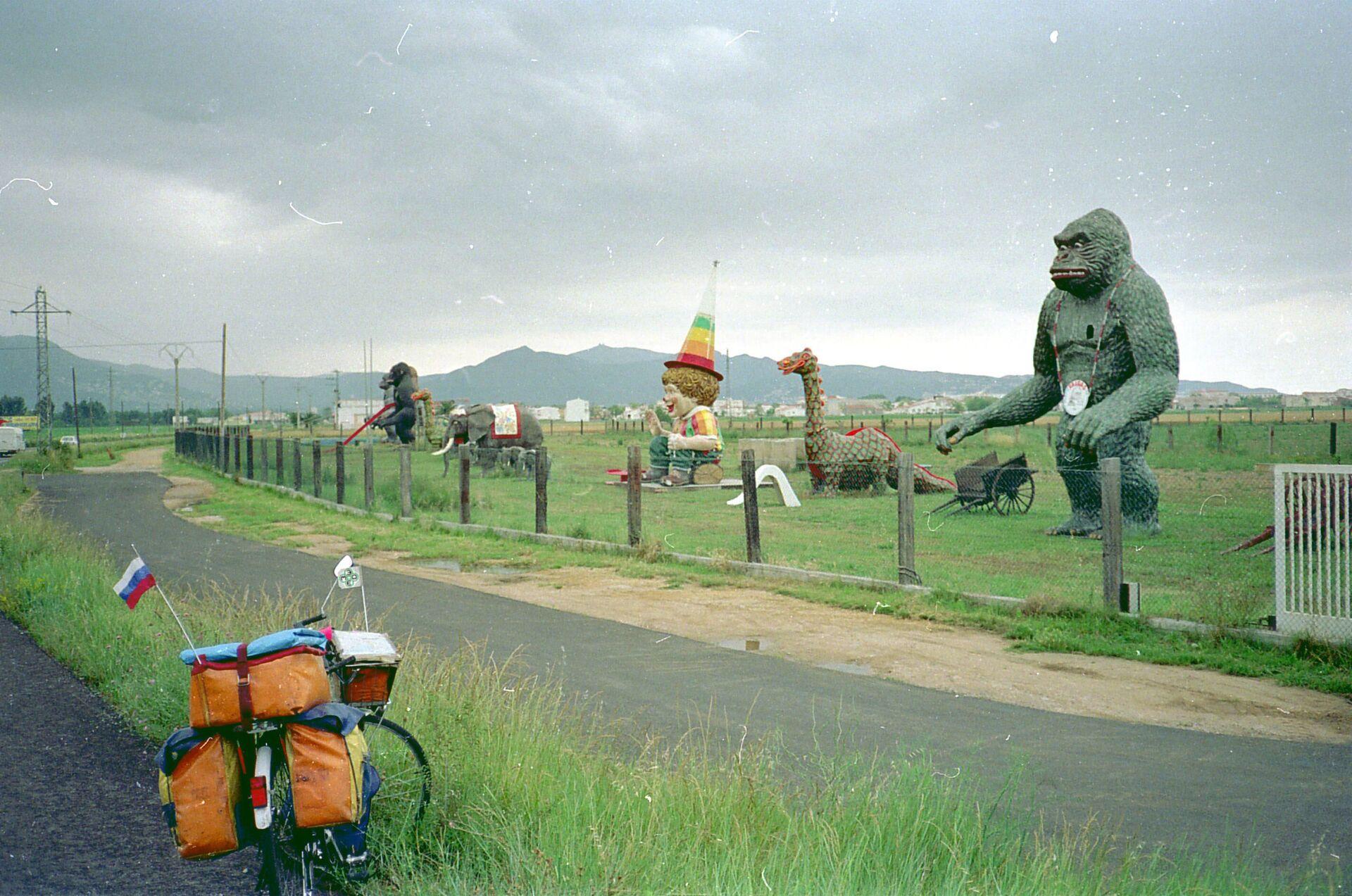 La bicicleta de Vladislav Ketov en España, 1992 - Sputnik Mundo, 1920, 11.02.2021