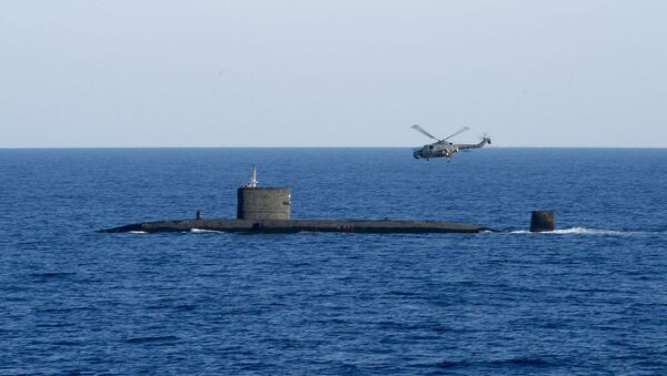 HMS Talent de las Fuerzas Armadas británicas - Sputnik Mundo