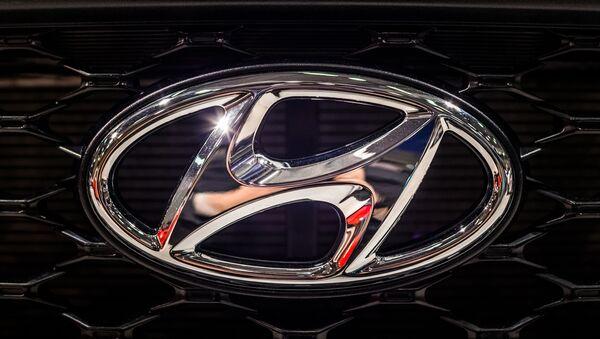 El logo de Hyundai - Sputnik Mundo