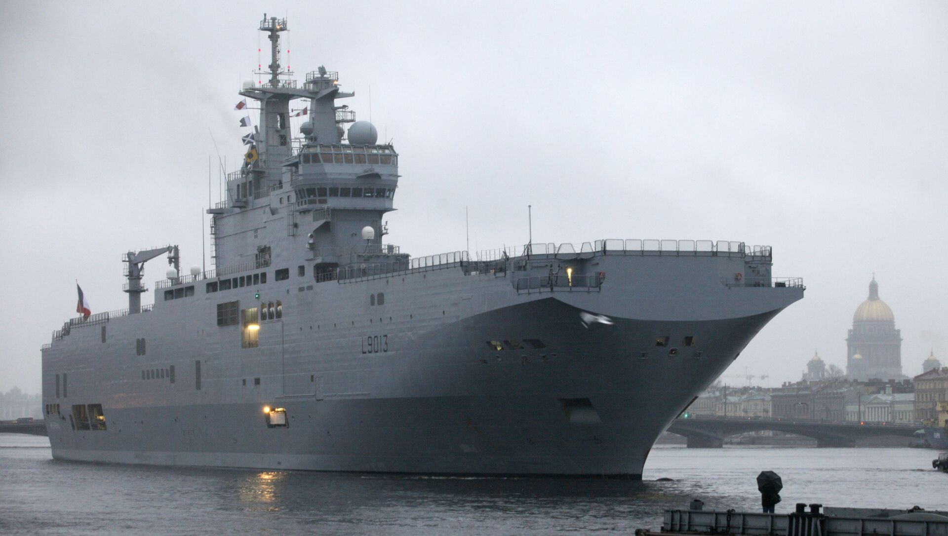 Un buque de asalto de la clase Mistral de la Armada rusa - Sputnik Mundo, 1920, 08.02.2021