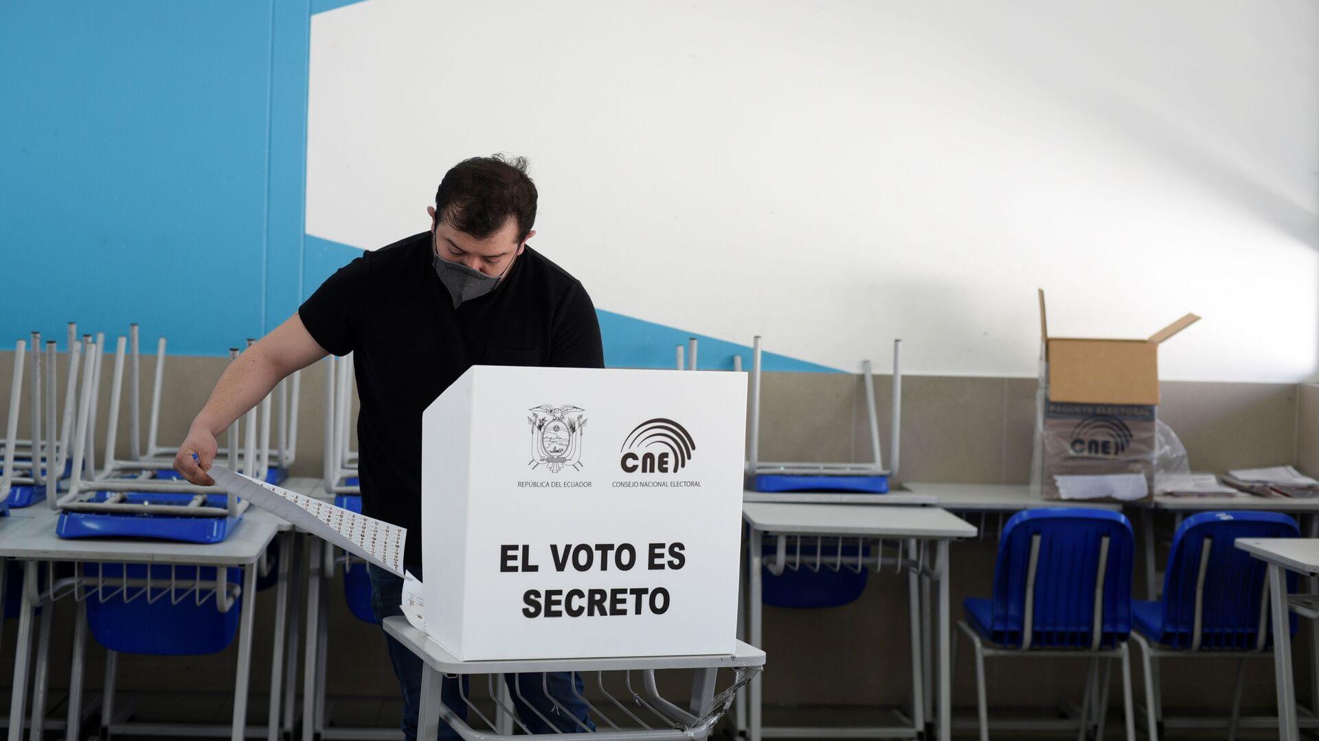 Elecciones presidenciales en Ecuador - Sputnik Mundo, 1920, 17.02.2021