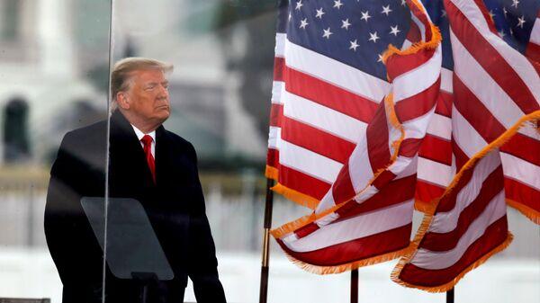 Donald Trump, expresidente de EEUU - Sputnik Mundo