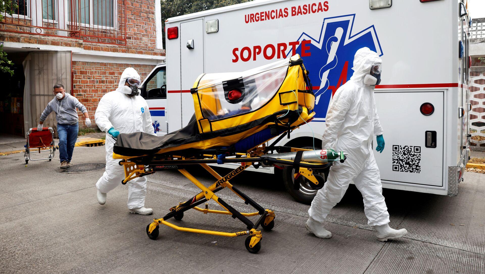 Pandemia de coronavirus en México - Sputnik Mundo, 1920, 09.02.2021