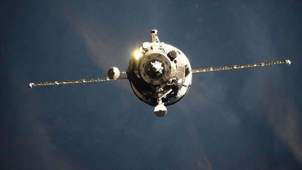 La nave espacial rusa de carga Progress MS-15 - Sputnik Mundo
