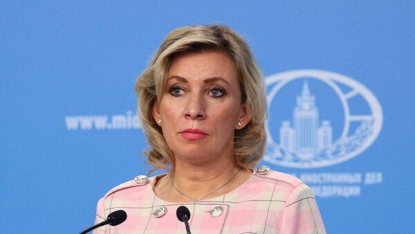 María Zajárova, portavoz del Ministerio de Exteriores ruso - Sputnik Mundo