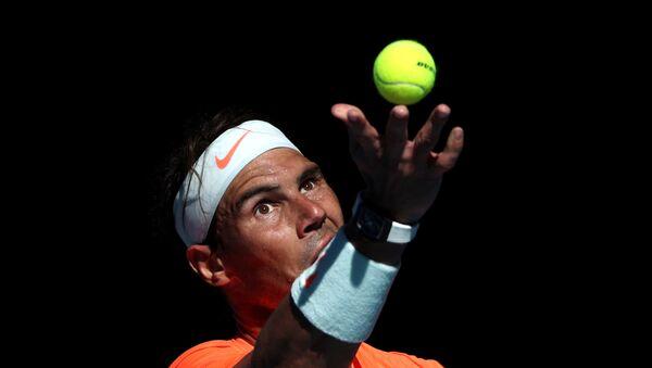 El tenista Rafael Nadal en Melbourne (Australia) - Sputnik Mundo