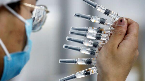 Vacuna china Sinovac - Sputnik Mundo