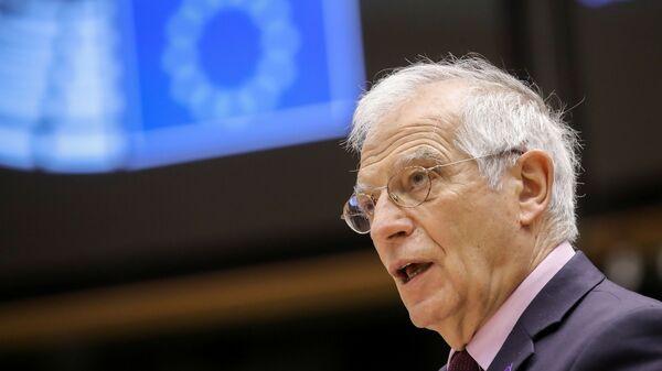 Josep Borrell, jefe de la diplomacia europea - Sputnik Mundo