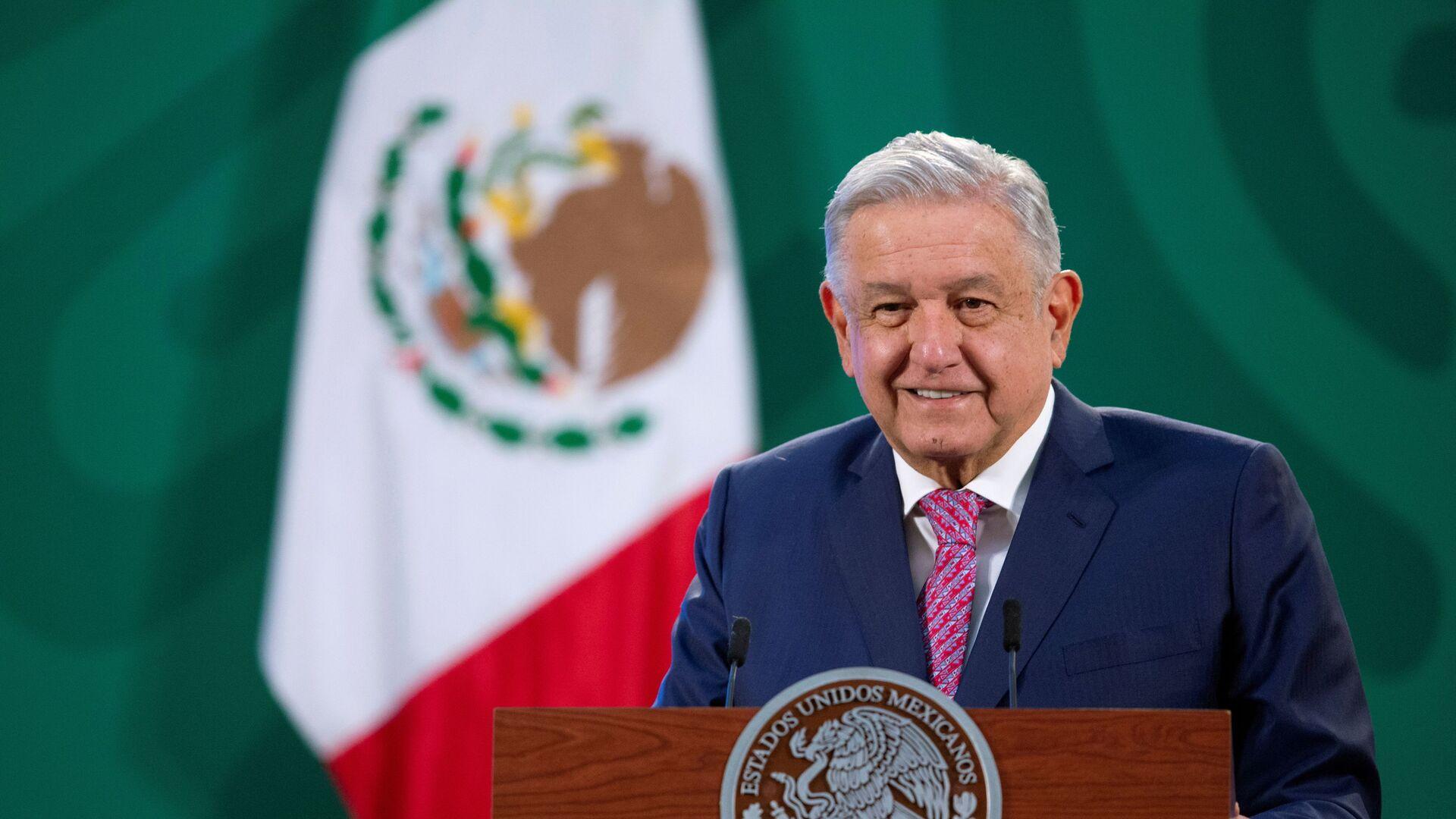 Andrés Manuel López Obrador, presidente de México - Sputnik Mundo, 1920, 09.02.2021