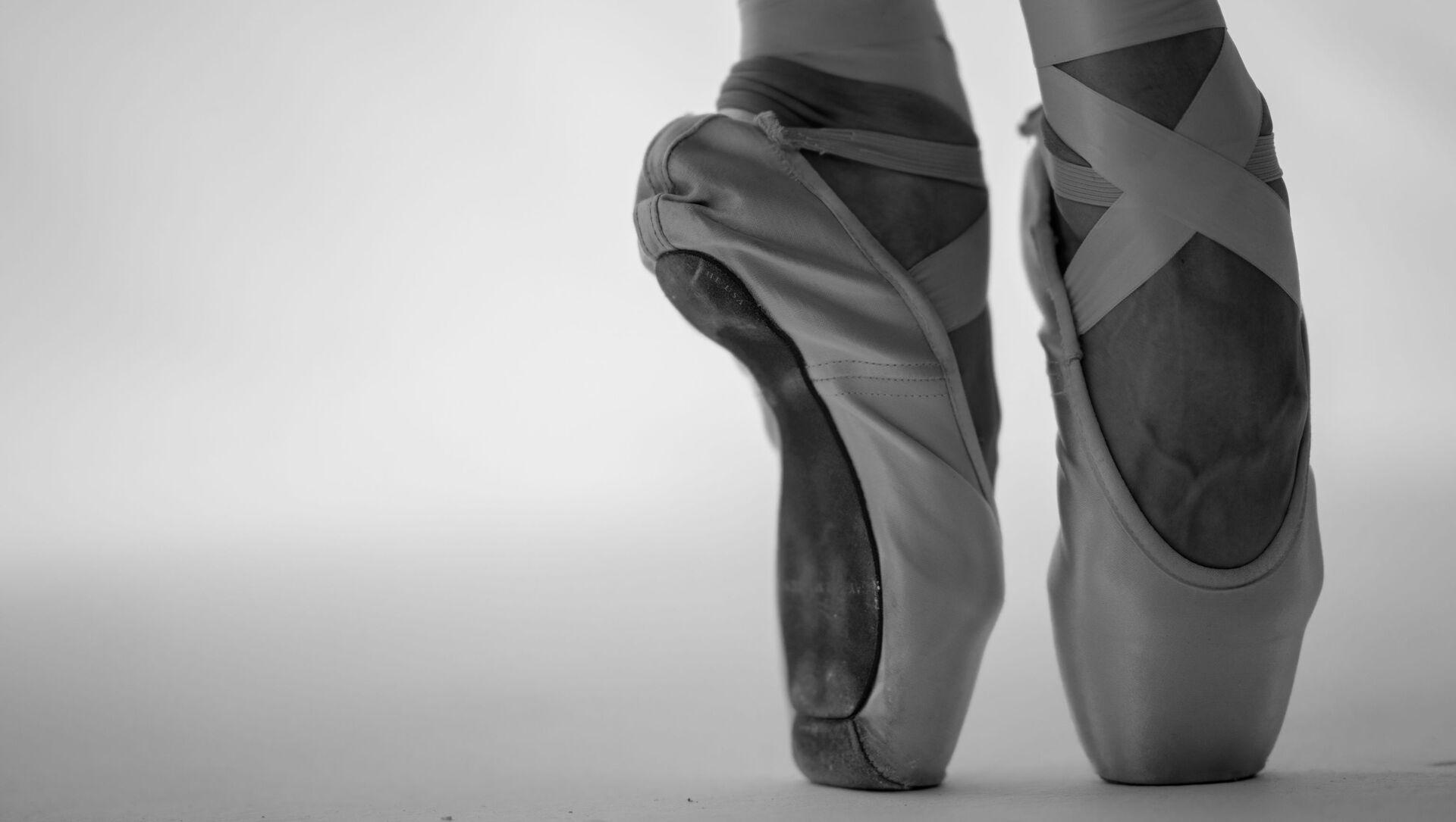 Zapatillas de punta (imagen referencial) - Sputnik Mundo, 1920, 09.02.2021