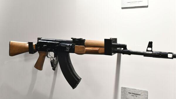 Una carabina civil TG2 de Kalashnikov. - Sputnik Mundo