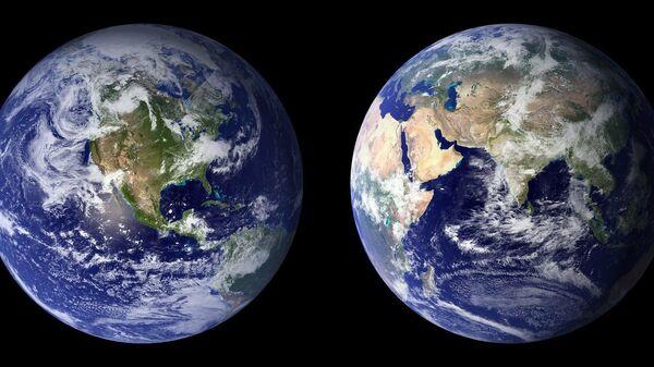 El planeta Tierra, referencial - Sputnik Mundo