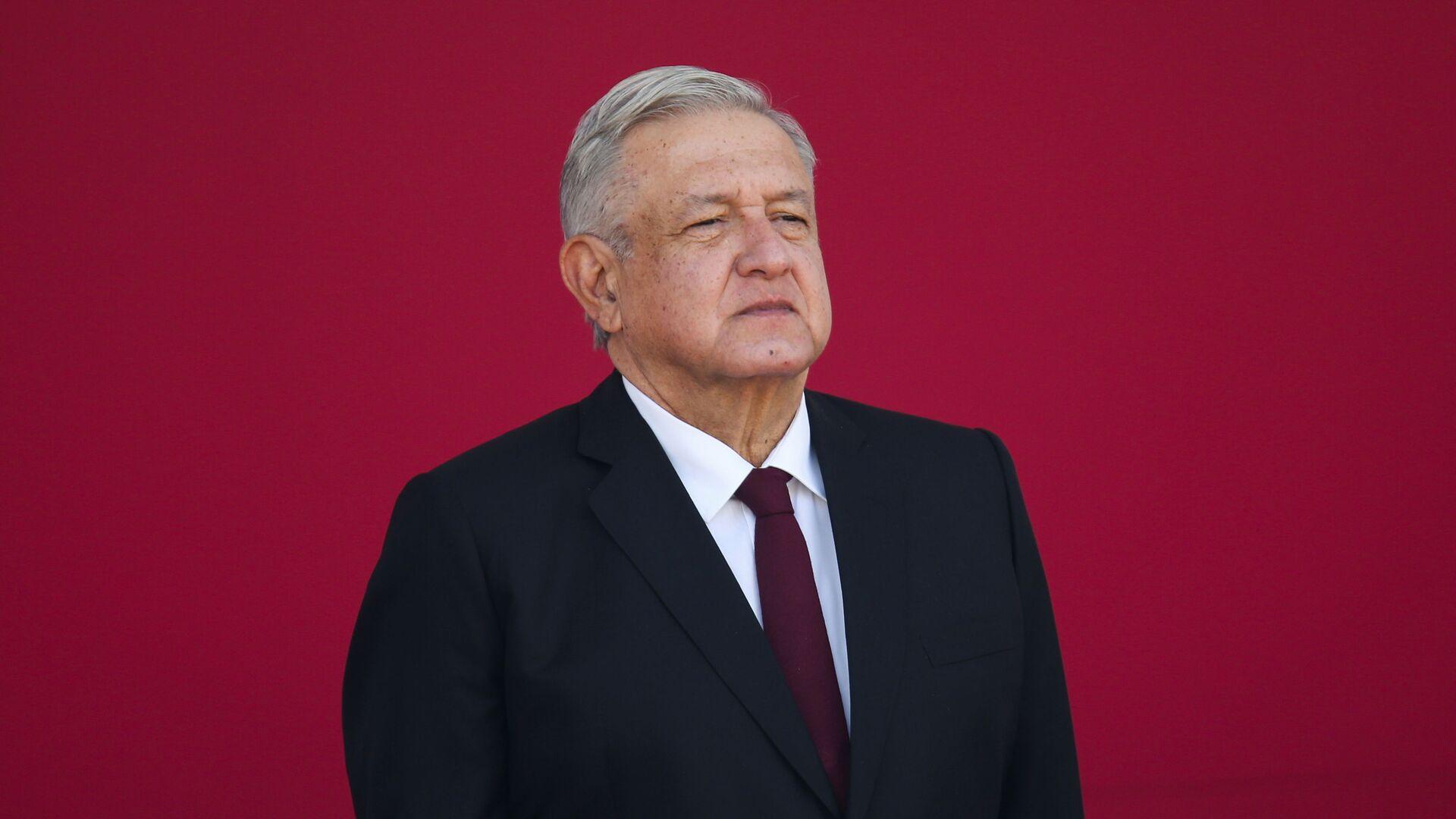 Andrés Manuel López Obrador, presidente de México - Sputnik Mundo, 1920, 28.04.2021