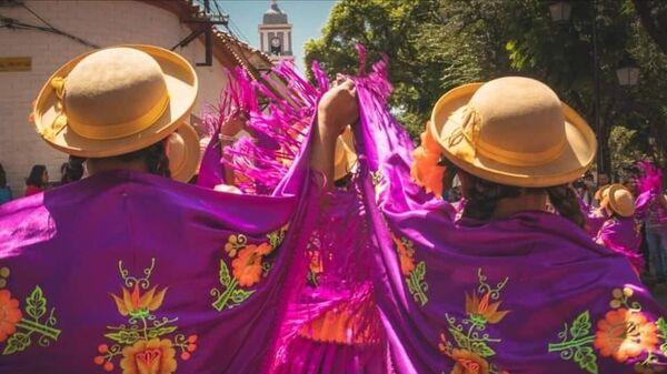 Celebración del Día de las Comadres en la ciudad de Tarija, Bolivia - Sputnik Mundo